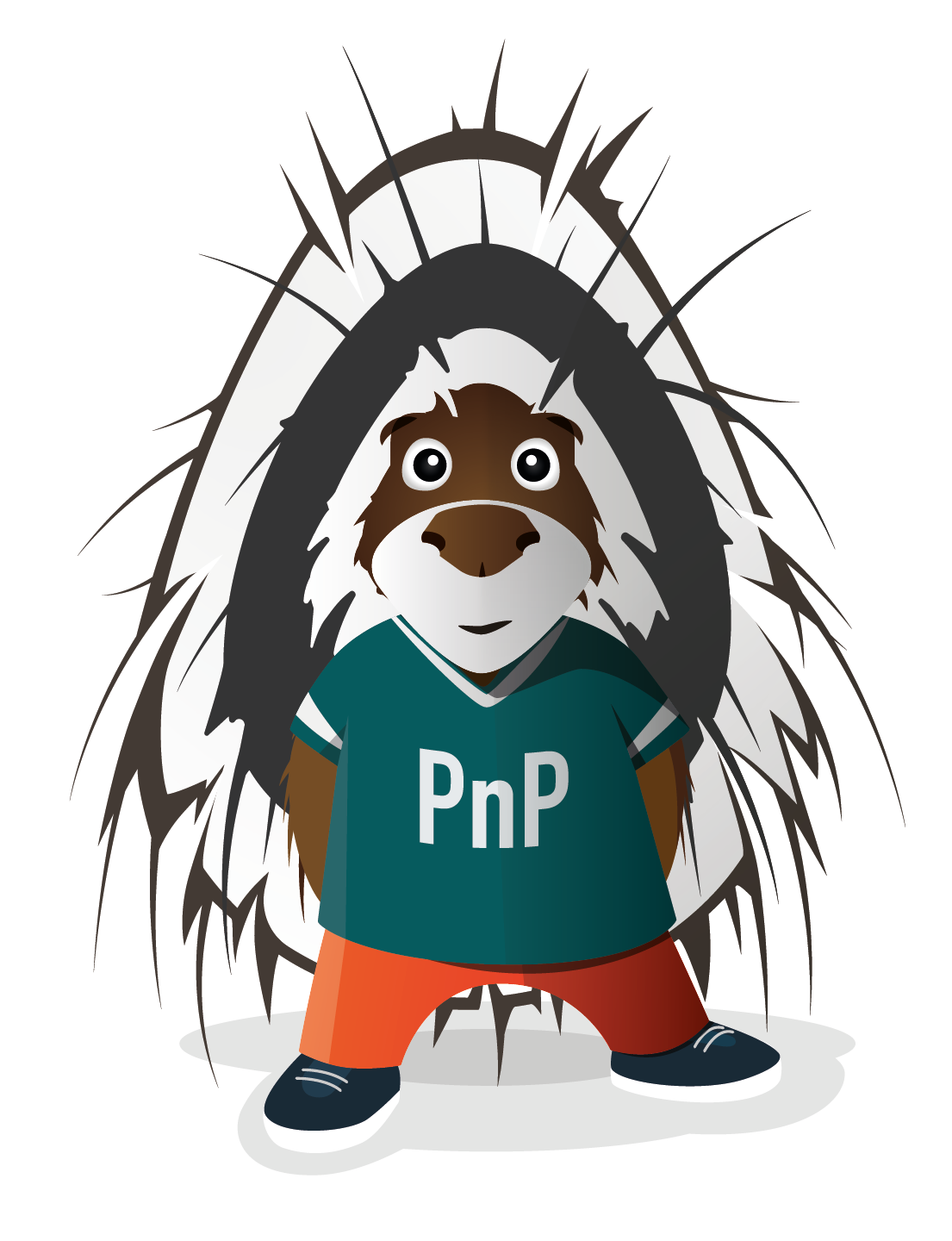 Parker the Porcupine, the Official Mascot of the PnP